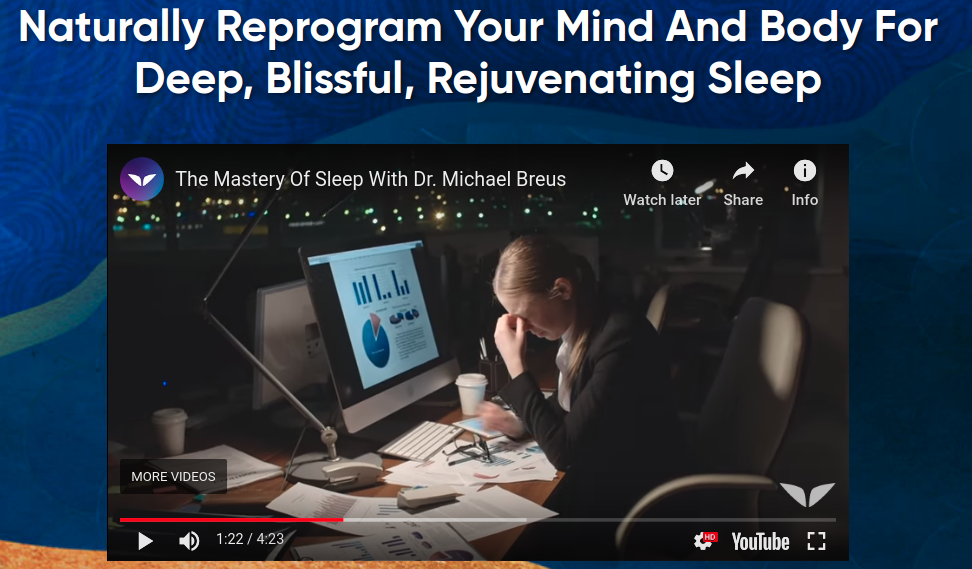 The Mastery Of Sleep Review