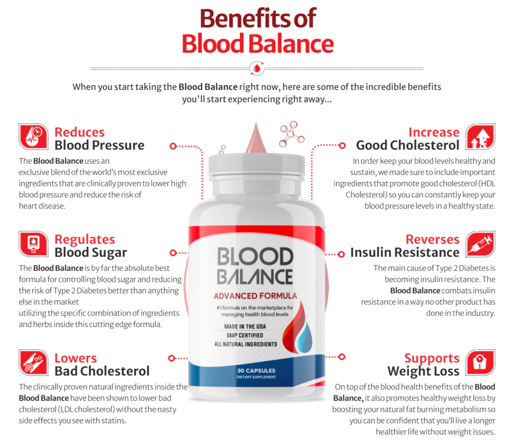 Blood Balance Advanced Formula Work